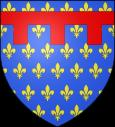 Arms of Anjou-Sicily.